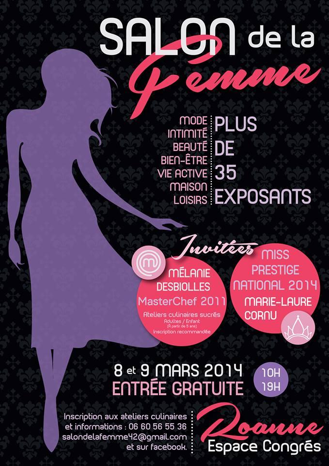 Roanne Salon de la Femme 8-9 mars 2014