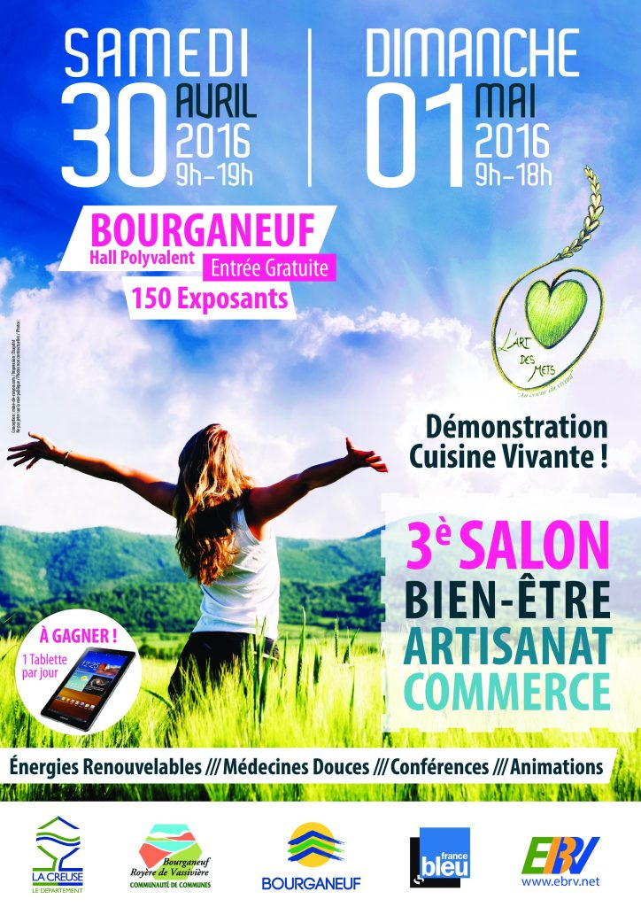 AFFICHE Bourganeuf 2016